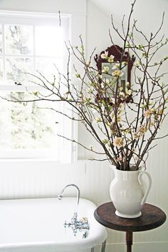 Flowering branches via Lovely Notepad