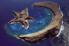 Island of Molokini, Hawaii