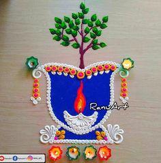 Easy Rangoli Designs Diwali, Simple Rangoli Designs Images, Beautiful Rangoli Designs, Rangoli Borders, Rangoli Border Designs, Simple Mehndi Designs Fingers, Tulsi Vivah, Kajol Saree, Mehndi Designs Book