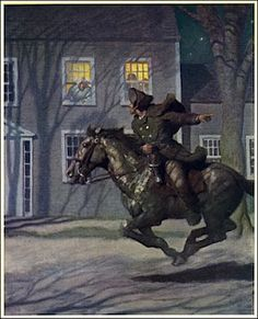 3RD HOUSE__Transportation, Short Distances, Errands, Pony Express, U.S. Mail, Immediate Environment, Neighbors, Local Broadcasting__N. C. Wyeth