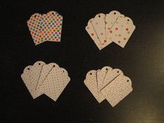 Set of 14/Fourteen Handmade Polka-Dot by RepurposedLemonade