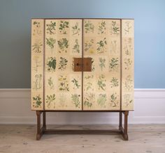 Floral Cabinet : The Apartment