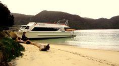#AbelTasman National Park, Medlands Beach in Autumn cruise on Wilson's Vista