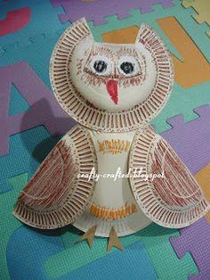 The Owl « Animal Crafts « Crafty-Crafted.com