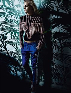 Back on Track - Cara Delevingne by Mario Testino for Vogue UK September 2016…