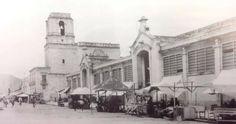 Mercado Constitución hoy Plaza Valladolid. 1924