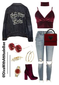 """""""_EL D0RAD0'"""" by divawithattitudebae ❤ liked on Polyvore featuring Boohoo, High Heels Suicide, River Island, Percy Lau, Pieces, Les Petits Joueurs, Alexis Bittar and Rolex"""