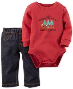 Carter's Baby Boys' 2-Piece Bodysuit & Pants Set