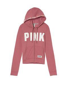 Perfect Full-Zip Hoodie PINK