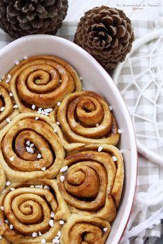 Roulés à la Cannelle / Cinnamon Rolls / KanelBullar Vegan - Les Gourmandises de Titenoon