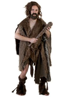 Return to the prehistoric days before fire was even invented in this deluxe adult caveman costume. You're sure to convince others that you've been living in a cave!