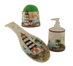 Lighthouse Kitchen Decor | Decorations,kitchenware,home decor & Gifts TICO-DECORATIONS-Lighthouse ...