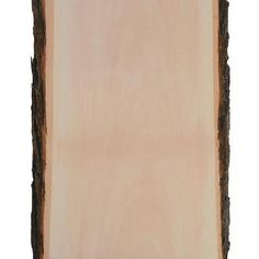 Bring a little bit of the outdoors inside with this DIY Large Basswood Plank with Bark. Add this plank to your arts and crafts supplies and turn it in.