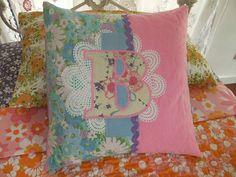 Bridies birthday cushion by clothwork, via Flickr
