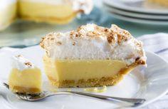 Prăjitură fără lactoză cu cocos - Totul Despre Mame Cheesecake, Lemon Meringue Pie, Snack, Gluten, Pudding, Baking, Desserts, Food, Coconut Sorbet