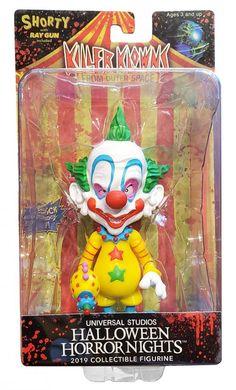 HHN 2019 Killer Klowns Collectible Shorty Figure Toy | Hedgehogs Corner Universal Studios Halloween, Universal Studios Parking, Universal Studios Theme Park, Universal Parks, Halloween Horror Nights, Collectible Figurines, Hedgehogs, Outer Space, Madness