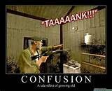 Oldage confusion