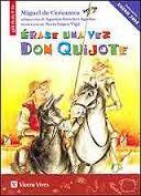 Si quieres conocer la historia de Don Quijote y su escudero, con una selección de sus aventuras y desventuras (molinos y gigantes,pelea con el rebaño de ovejas,manteo de Sancho,…)no dudes en leer este libro, te trasladará a la época de los caballeros que salen en defensa de los más desvalidos.