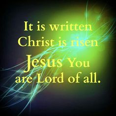 Jesus You are Lord of all