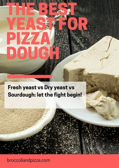 The best yeast for pizza dough: which one you should use when baking at home. Pizza And More, How To Make Pizza, Broccoli Pizza, No Yeast Pizza Dough, Best Homemade Pizza, Things I Want, Good Things, Dry Yeast, Let It Be