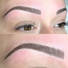 Before & After Permanent Beauty by Lili – microblading eyebrows Eyebrow Makeup Tips, Permanent Makeup Eyebrows, Eye Makeup, Makeup Hacks, Eyebrow Pencil, Face Threading, Threading Eyebrows, Mircoblading Eyebrows, Eyeliner