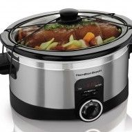 Hamilton Beach Slow Cooker on Ghetto Foodie