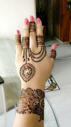 #ModernMehendiDesigns #IndianWeddings