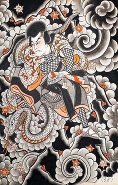 Horimono Tattoo | ... , Horiyoshi 3,irezumi, japanese tattoo, Osen, horimono (97 of 286