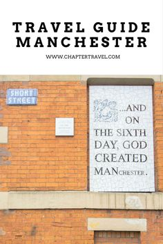 Travel Guide for a Weekend in Manchester, 5 things to do in Manchester, Things to do in Manchester, Europe, Citytrip in Europe, United Kingdom, Manchester United, Restaurants in Manchester, Where to eat in Manchester, Where to sleep in Manchester, The Low