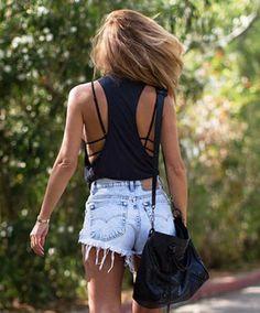 Denim #shorts