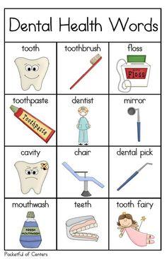Dental Health Words  Dentaltown - Patient Education Ideas