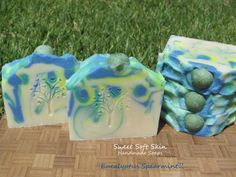 Eucalyptus Spearmint Soap by SweetSoftSkin on Etsy, $4.00