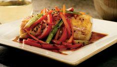 Teriyaki-Braised Alaska Black Cod with Colorful Vegetables | Wild Alaska Seafood