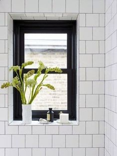 Top 70 Best Shower Window Ideas - Bathroom Natural Light Window Ledge Decor, Window Ideas, Window Sill, Glamping, Window In Shower, Contemporary Shower, Bathroom Windows, Light Bathroom, Bathroom Black