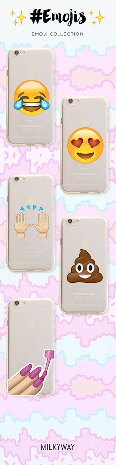 We just love these emoji cases!