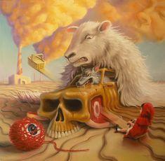 The lingering after effects of deception by sgibb on DeviantArt Bizarre Art, Weird Art, Strange Art, Surrealism Painting, Pop Surrealism, Fractured Fairy Tales, Composition Art, Beautiful Fantasy Art, Canadian Art
