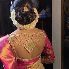 Latest Silk Saree Blouse Designs for South Indian Brides 2020 - Latest Silk Sar. - Latest Silk Saree Blouse Designs for South Indian Brides 2020 – Latest Silk Saree Blouse Designs - Sari Blouse, Silk Saree Blouse Designs, Bridal Blouse Designs, Saree Dress, Blouse Patterns, Blouse Back Neck Designs, Best Blouse Designs, Sari Design, Latest Silk Sarees