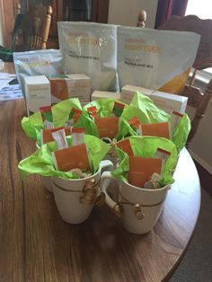 I've got goodies for anybody who wants them! All you have to do is a book an Arbonne party with me! It's simple. We set a date, you get together a group of friends, usually between 5-10 and everything else including snacks and refreshments I will take care of. Consultant ID: 21116966