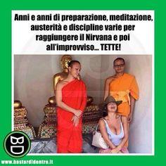 Raggiungere il #nirvana #bastardidentro #monaco www.bastardidentro.it