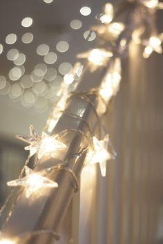 Little star fairy lights Noel Christmas, All Things Christmas, Winter Christmas, Christmas Lights, Christmas Decorations, Christmas Colors, Christmas Wedding, Twinkle Twinkle Little Star, Twinkle Lights