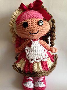 Ravelry: Sweety toddler Lala doll pattern by Teresa Alvarez