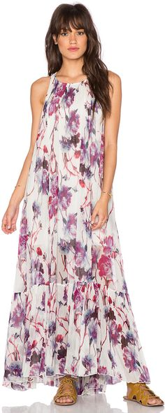 Trending Shop for Free People Juno Maxi Dress in Spring Garden Combo at REVOLVE