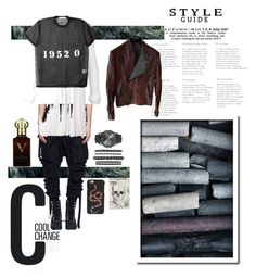 """""""Cool Change for men"""" by stella-de-luna-fashion ❤ liked on Polyvore featuring Unravel, Julius, Givenchy, Gucci, Clive Christian, Alexander McQueen, Isaac Sellam, Cool Change, men's fashion and menswear"""