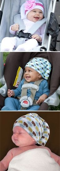 The Tortle... to prevent positional plagiocephaly/treat torticollis... would be pretty easy to make