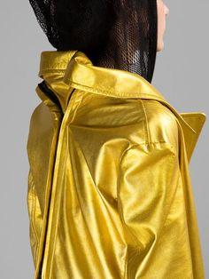 YOHJI YAMAMOTO WOMEN'S GOLD RIDERS COAT