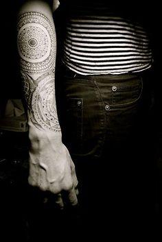 Nice tatt for a guy.