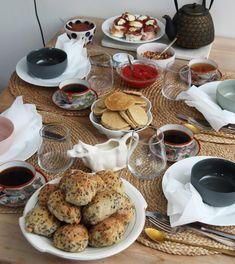 Eltefrie frokostrundstykker - My Little Kitchen Little Kitchen, Pancakes, Kitchens, Brunch, Breakfast, Morning Coffee, Pancake, Kitchen, Cuisine