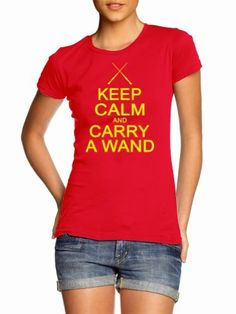 Juniors Keep Calm and Carry A Wand Funny Wizard Geek Cult Humor T-Shirt BigtimeTeez, http://www.amazon.com/dp/B0096DQDDK/ref=cm_sw_r_pi_dp_QR8Nqb060H62N