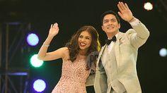 How did AlDub affect AGB Mega Manila ratings of Eat Bulaga and It's Showtime?