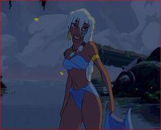 """Kida, from """"Atlantis"""""""